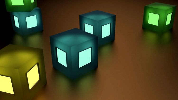 Lighted Blocks