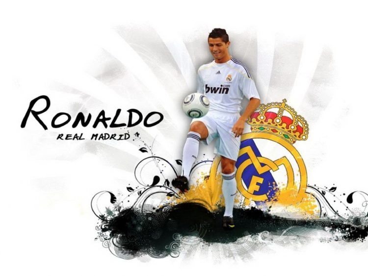Ronaldo 2013 Real Madrid Wallpaper