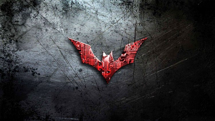 Rouge Batman Symbole Haute